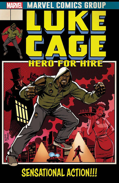 LUKE CAGE #166 JOHNSON LH VAR LEG