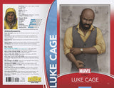 LUKE CAGE #166 CHRISTOPHER TRADING CARD VAR LEG