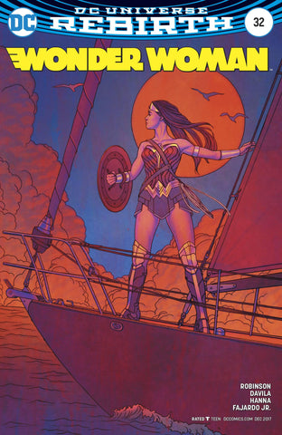 WONDER WOMAN VOL 5 #32 VAR ED