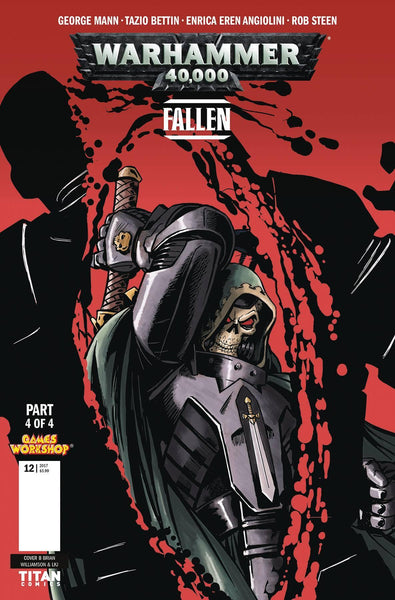 WARHAMMER 40000 FALLEN #4 CVR B WILLIAMSON - Kings Comics