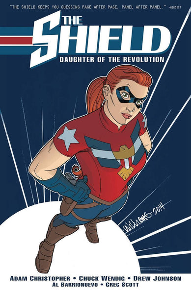 SHIELD (DARK CIRCLE) TP VOL 01 DAUGHTER OF REVOLUTION - Kings Comics