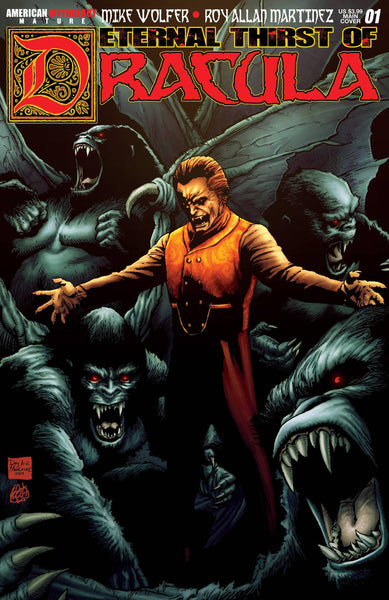 ETERNAL THIRST OF DRACULA #1 MAIN CVR