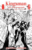 KINGSMAN RED DIAMOND #3 CVR B B&W GREENE