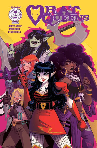 RAT QUEENS VOL 2 #6 CVR B BOO