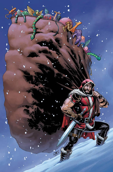 KLAUS AND THE CRISIS IN XMASVILLE #1 15 COPY CASSADAY INCV