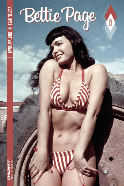 BETTIE PAGE #6 CVR C PHOTO
