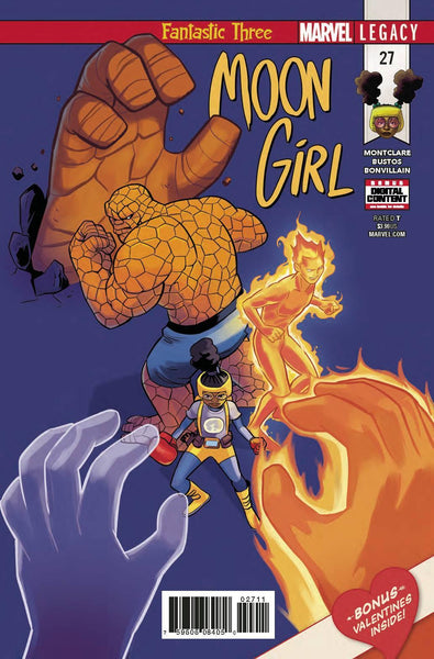 MOON GIRL AND DEVIL DINOSAUR #27 LEG