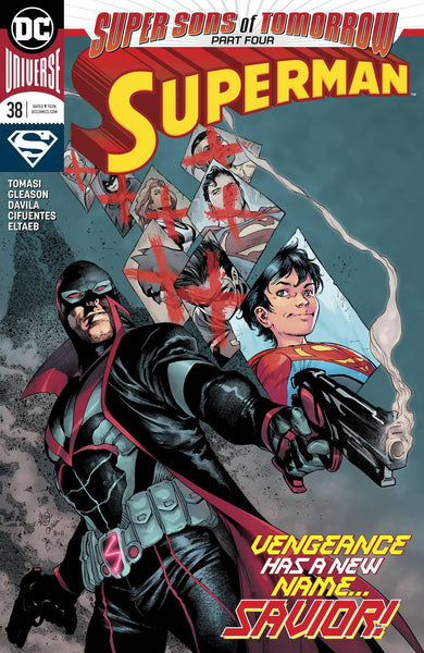 SUPERMAN VOL 5 #38 SONS OF TOMORROW