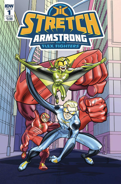 STRETCH ARMSTRONG & FLEX FIGHTERS #1 CVR A AMANCIO