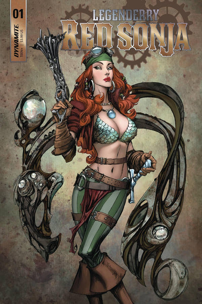 LEGENDERRY RED SONJA VOL 2 #1 CVR A BENITEZ