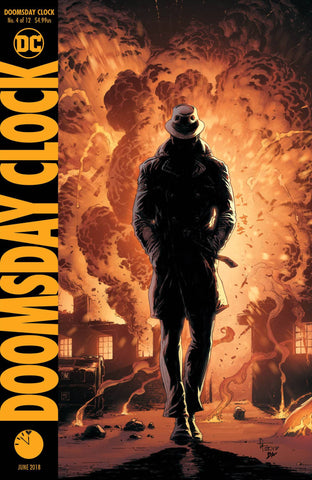 DOOMSDAY CLOCK #4 VAR ED