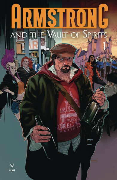 ARMSTRONG & THE VAULT OF SPIRITS #1 CVR A ANDRASOFSZKY (ONE SHOT)