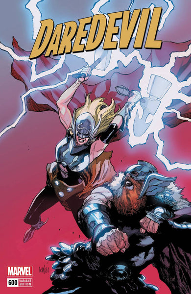 DAREDEVIL VOL 5 #600 YU MIGHTY THOR VAR LEG