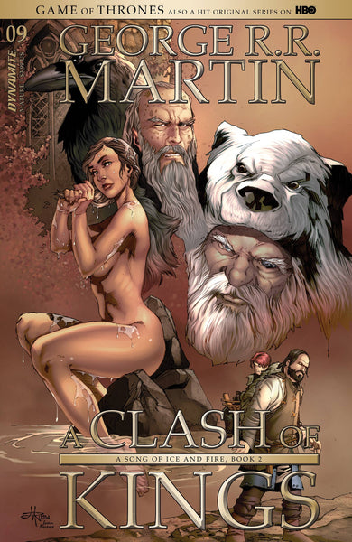 GAME OF THRONES CLASH OF KINGS #9 CVR B RUBI