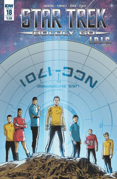STAR TREK BOLDLY GO #18 CVR A HOOD - Kings Comics