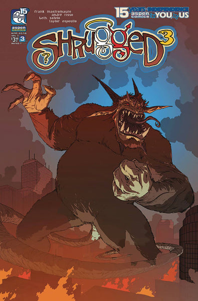 SHRUGGED VOL 3 #3 CVR B GUNNELL