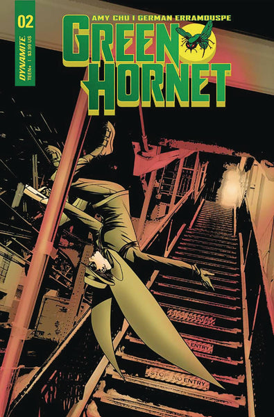 GREEN HORNET VOL 4 #2 CVR A MCKONE - Kings Comics