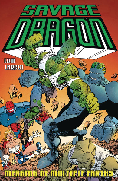 SAVAGE DRAGON MERGING OF MULTIPLE EARTHS TP - Kings Comics