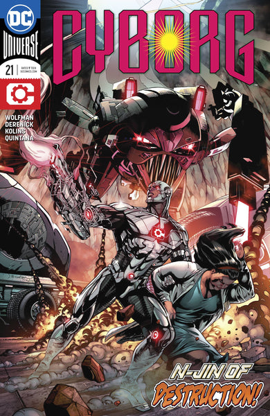 CYBORG VOL 2 #21 - Kings Comics