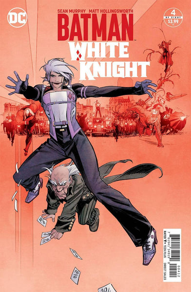 BATMAN WHITE KNIGHT #4 2ND PTG