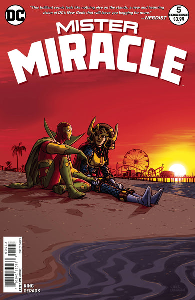 MISTER MIRACLE VOL 4 #5 2ND PTG
