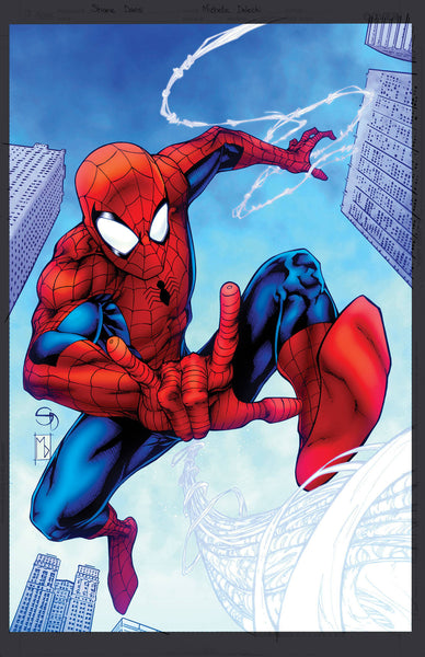 AMAZING SPIDER-MAN VOL 5 #1 DAVIS VAR