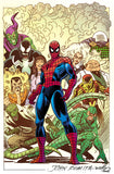 AMAZING SPIDER-MAN VOL 5 #1 JR SR VAR