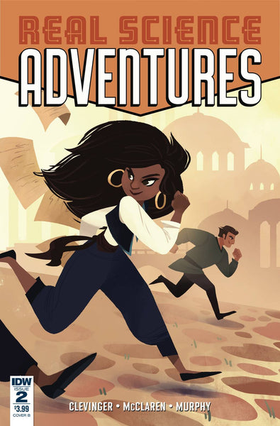 REAL SCIENCE ADVENTURES NICODEMUS JOB #2 CVR B MENGERT