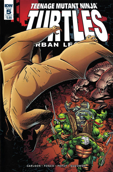 TMNT URBAN LEGENDS #5 CVR B FOSCO LARSEN
