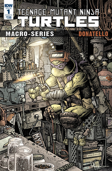 TMNT MACROSERIES #1 DONATELLO CVR A PETERSEN