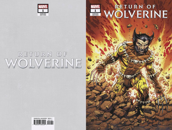 RETURN OF WOLVERINE #1 MCNIVEN FANG COSTUME COVER