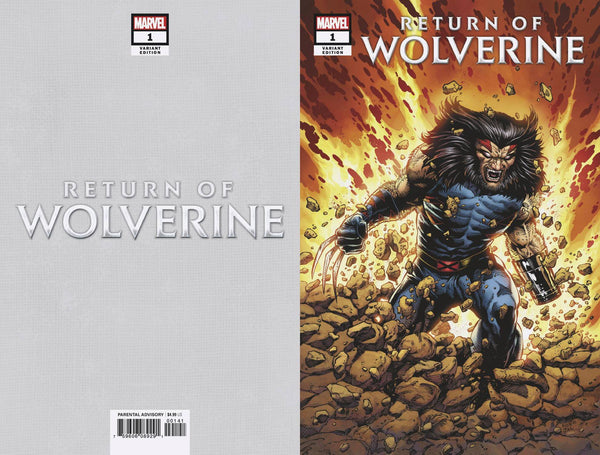 RETURN OF WOLVERINE #1 MCNIVEN AGE APOCALYPSE COSTUME COVER