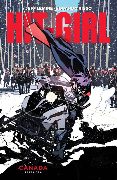 HIT-GIRL VOL 2 #8 CVR C LEON