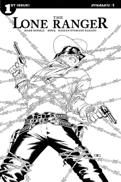 LONE RANGER VOL 6 #1 10 COPY CASSADAY B&W INCV
