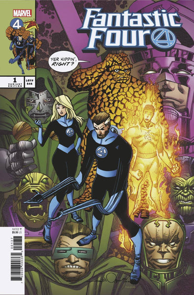 FANTASTIC FOUR VOL 6 #1 SIMONSON VAR