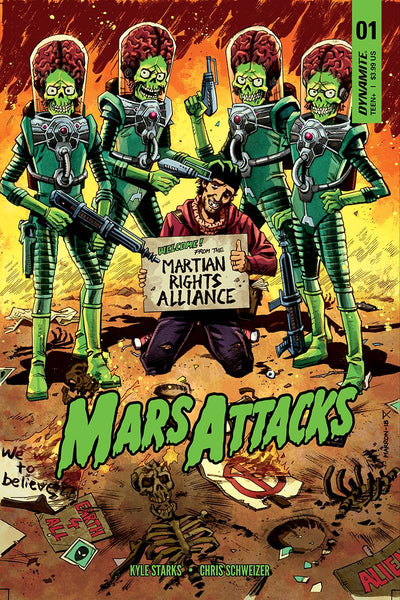 MARS ATTACKS VOL 4 #1 CVR C MARRON