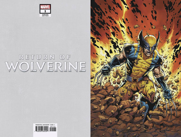 RETURN OF WOLVERINE #1 MCNIVEN CURRENT COSTUME VIRGIN VARIANT COVER