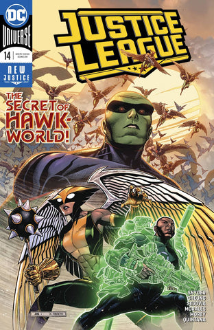 JUSTICE LEAGUE VOL 4 #14
