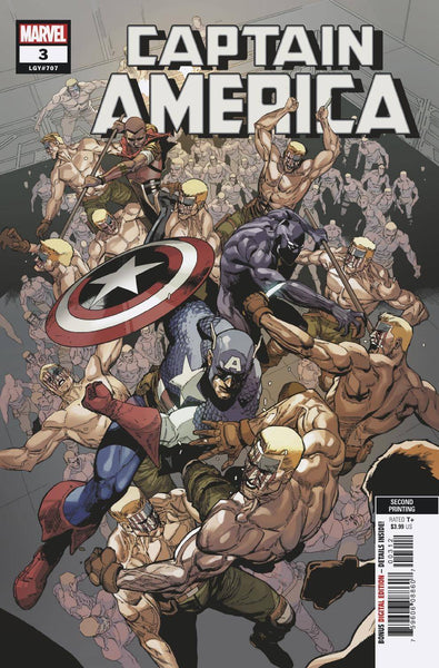 CAPTAIN AMERICA VOL 9 #3 2ND PTG YU VAR