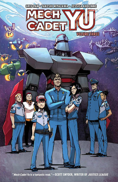 MECH CADET YU TP VOL 03 - Kings Comics