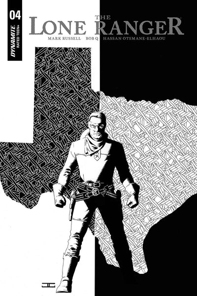 LONE RANGER VOL 6 #4 10 COPY CASSADAY B&W INCV