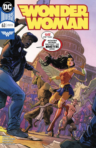 WONDER WOMAN VOL 5 #63