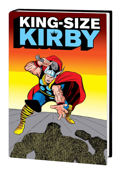 KIRBY IS MIGHTY KING SIZE HC - Kings Comics