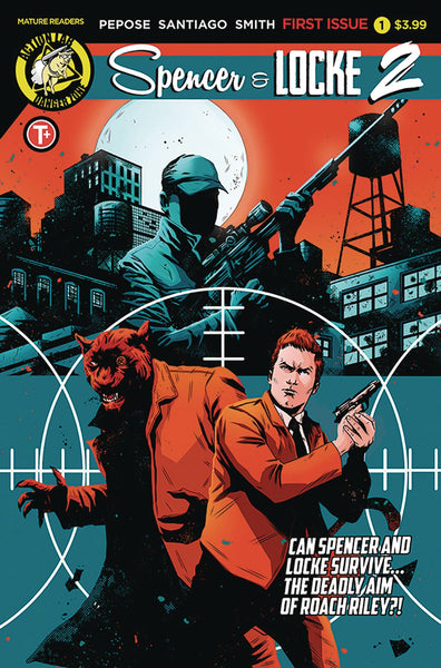 SPENCER AND LOCKE 2 #1 CVR B HOUSE - Kings Comics