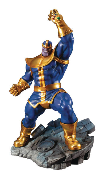 MARVEL COMICS AVENGERS SERIES THANOS ARTFX+ STATUE - Kings Comics