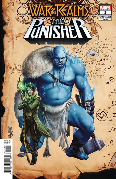 WAR OF REALMS PUNISHER #1 CAMUNCOLI CONNECTING REALM VAR