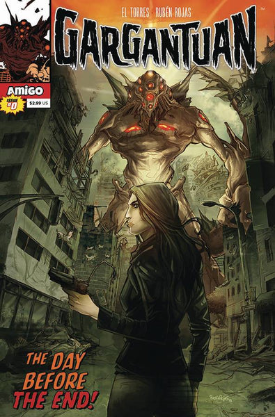 GARGANTUAN #0 - Kings Comics