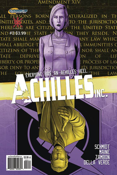 ACHILLES INC #3 - Kings Comics