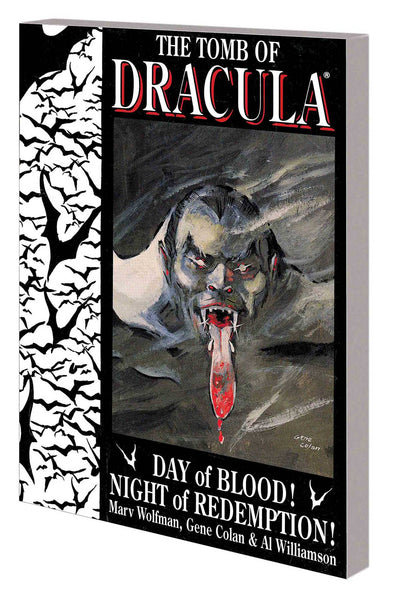 TOMB OF DRACULA TP DAY OF BLOOD NIGHT OF REDEMPTION - Kings Comics