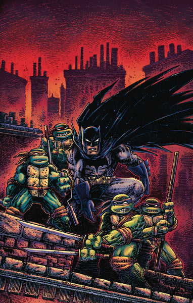 BATMAN TEENAGE MUTANT NINJA TURTLES III #2 VAR ED